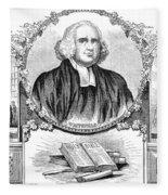 George Whitefield (1714-1770) Fleece Blanket