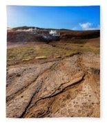 Geothermal Field Fleece Blanket