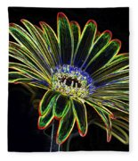 Gerbera Glow 1 Fleece Blanket