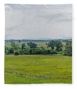 Gettysburg Battlefield Fleece Blanket