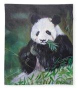 Giant Panda 1 Fleece Blanket