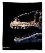 Giganotosaurus Skull 3 Fleece Blanket