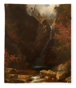 Glen Ellis Falls Fleece Blanket