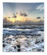 God's Glory Fleece Blanket