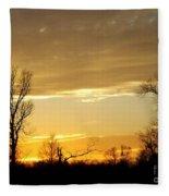 Golden Sunset 61 Fleece Blanket