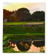 Golf Course Beauty Fleece Blanket