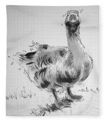 Goose Fleece Blanket