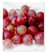 Gooseberries Fleece Blanket