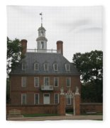Governers Palace Colonial Williamsburg Fleece Blanket