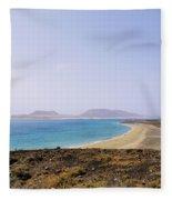Graciosa Island Fleece Blanket