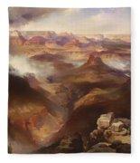 Grand Canyon Of The Colorado River Fleece Blanket