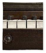 Grand Pianoforte Fleece Blanket