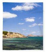Granite Island South Australia Fleece Blanket