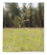Grassy Meadow Fleece Blanket