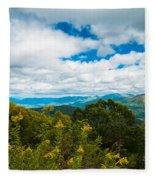 Great Smoky Mountains Fleece Blanket