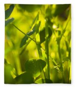 Greenery Fleece Blanket