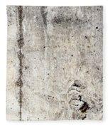 Grunge Concrete Texture Fleece Blanket