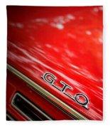 GTO Fleece Blanket