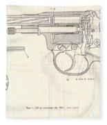 Gun Fleece Blanket