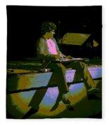 Hagar In Spokane 1977 Fleece Blanket