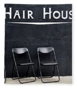 Hair House Fleece Blanket
