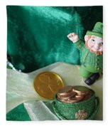 Happy St. Patricks Day Fleece Blanket