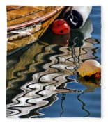 Harbour Reflections Fleece Blanket