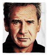 Harrison Ford Fleece Blanket
