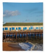 Hastings Pier Fleece Blanket