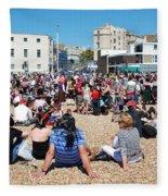 Hastings Pirate Day Fleece Blanket