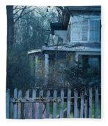 Haunted House Fleece Blanket