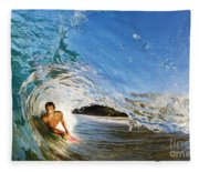Makena Boogie Boarder Fleece Blanket