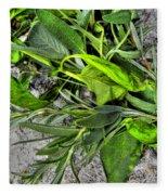 Herbs Fleece Blanket