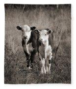 Herefords Fleece Blanket