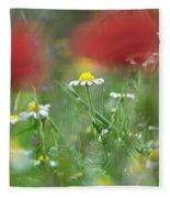 Hidden Flower Fleece Blanket