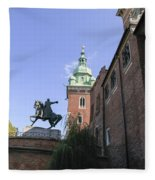 Historic Centre Cracow Poland  Fleece Blanket