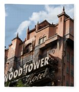 Hollywood Tower Fleece Blanket