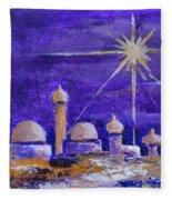 Holy City Fleece Blanket