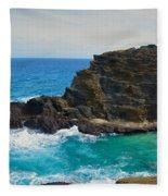 Honolulu Hi 11 Fleece Blanket