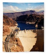 Hoover Dam Nevada Fleece Blanket