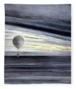 Hot Air Balloon, 1875 Fleece Blanket