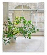 House Plant Fleece Blanket