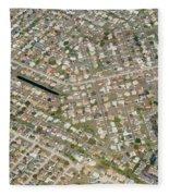 Housing Development, Florida Fleece Blanket