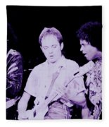 Humble Pie - On To Victory Tour At The Cow Palace S F 5-16-80 Fleece Blanket