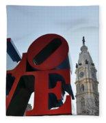 I Love Philadelphia Fleece Blanket