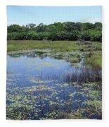 IImages From The Pantanal Fleece Blanket