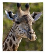 I'm All Ears - Giraffe Fleece Blanket