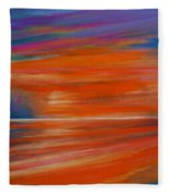 Impression Sunset 02 Fleece Blanket