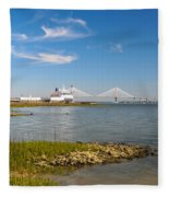 Port Of Call Fleece Blanket