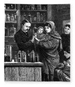 Ireland: Vaccination, 1880 Fleece Blanket